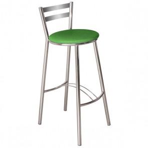 Banqueta Verona B200 Média - Corino Verde - Compoarte