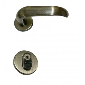 Fechadura 803/09 RI Escovado (Tipo Externa) - Stam