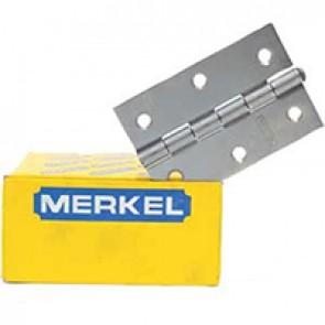 """Dobradiça Merkel 530 3"""" x 2 5/8"""""""