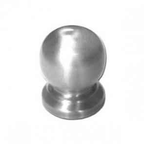 """Puxador Redondo 1"""" (alumínio escovado)"""